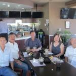 Vinh,Cường Vũ,Phan and Phu nhân, Giang (Cali 9/2014)